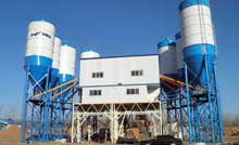 Continuous Concrete Batch Plant