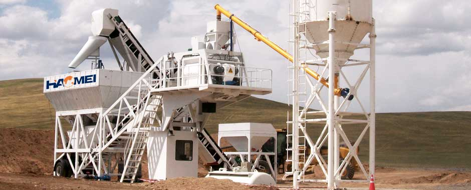 Ready-Mixed Concrete Batch Plant